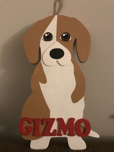 Hand Painted Dog, DIY