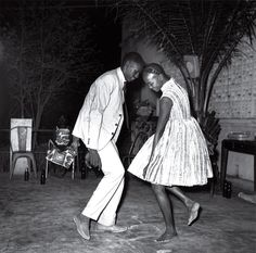"Nuit de Noël (Happy Club) by Malick Sidibè ""Youth is about childlike games. Those moments which tell you there is no suffering."" Malick Sidibé"