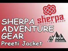 Lukas und Johanna Outdoor: SHERPA ADVENTURE GEAR Preeti Jacket Adventure Gear, Gears, Outdoor Clothing, Jackets, Gear Train