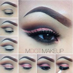 Beautiful! @mdotmakeup such a great tutorial ❤️ - @wakeupandmakeup- #webstagram