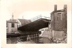 I think a duplicate of a prewar drawbridge.