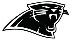 Carolina Panthers vinyl decals   Carolina Panthers Logo Decal