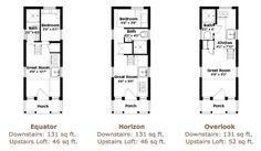 Linden 20 Tumbleweed Tiny House Floor Plans