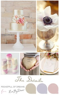 Love My Dress UK Wedding Blog: Bridal Inspiration Boards