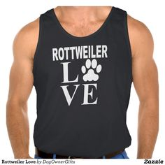 Rottweiler Love Tank Tank Tops