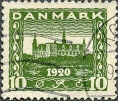 Vintage Danish Stamp