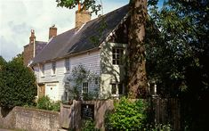 One tends to imagine Virginia Woolf in London, rather than the country, but she and her husband Leonard loved to spend time at their home in the Sussex countryside, Monk's House, in Rodmell. Here, they entertained many famous visitors connected with the Bloomsbury set. Apparently, E.M. Forster once burnt his trousers trying to warm himself by a stove upstairs.