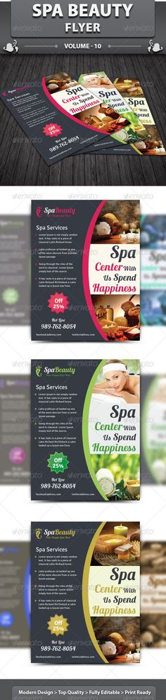 Spa Beauty Flyer v10 - Corporate Flyers