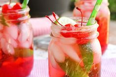 Check out this collection of 8 delicious non-alcoholic summer drink recipes all using simple, refreshing ingredients. There's something for everyone!
