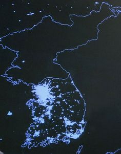 The small difference between North and South Korea ...