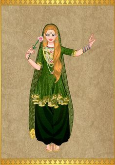 Princesa Eowin en traje Indu