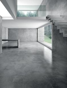 Concrete Interior | Industrial | Interior inspiration | Concrete design | Beton Design | Betonlook | www.forbo.com/...