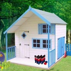 Shire Crib wooden Playhouse for children
