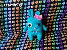 Blue bunny girl