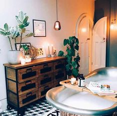 Discovered by 𝚃. Find images and videos about aesthetic, room and relax on We Heart It - the app to get lost in what you love. Large Bathtubs, Shower Cubicles, Bathroom Inspiration, Bathroom Ideas, Cozy Bathroom, Bathroom Inspo, Bathroom Designs, Bathroom Faucets, Up House