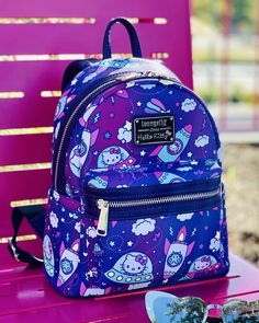 a93a9b9345 Hello Kitty Space Mini Backpack x Loungefly