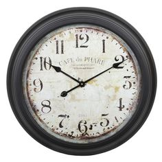 I pinned this Phare Wall Clock from the Wall to Wall event at Joss and Main!