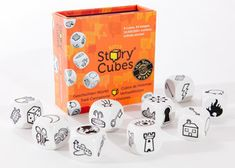 How it works Rorys Story Cubes are a remarkably simple and effective means for inspiring creative thinking and problem solving in all of us. Simply toss all the dice, examine each of the nine face-up images and let them guide your imagination through a story that begins with   Once upon a time.