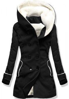 Kabát 8192A černý