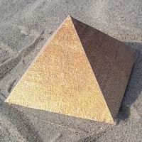printables to cut out and glue together paper models of square pyramids--realistic!