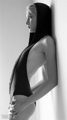 www.vogue.it/photovogue  Hannah   Factor Women  Makeup & Hair by Ashley Gray   Styling by Samone Robinson