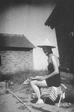 Plath drawing in Wisconsin, 1959.