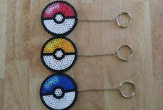 Pokemon Go-Inspired PokeBall Style Team Color Keychains (Select One)