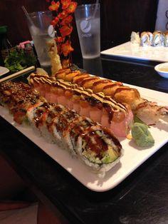 Think Food, I Love Food, Good Food, Yummy Food, Food Platters, Food Dishes, Food Porn, Food Snapchat, Sushi Recipes