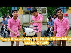 True Friendship VS Fake Friendship Mabu Crush   Trending Heros - YouTube Fake Friendship, Friendship Songs, Crushes, Hero, Videos, Youtube, Youtubers, Youtube Movies