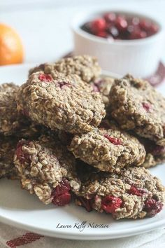 These Cranberry Orange Breakfast Cookies are delicious any time of the day! #SilkCashew @lovemysilk