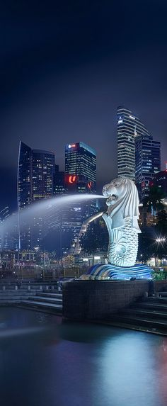 The Merlion, Singapore
