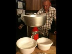 Cream separator review - YouTube
