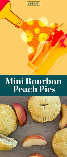 You should be spending your #summer days indulging and relaxing with delicious drinks and dishes. It's peak peach season, which means it's time to incorporate this delicious fruit into your dessert recipes. From cobblers to cakes, there's an endless amount you can do with peaches. This mini bourbon peach pies recipe with a flaky, melt-in-your-mouth vodka crust hits all the right notes for a summer treat. Please any crowd with these decadent pies. Peach Pie Recipes, Mouth Watering Food, Delicious Fruit, Summer Treats, Dessert Recipes, Desserts, Yummy Drinks, Bourbon, Delish