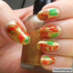 Autumn Leaves | Painted Fingertips