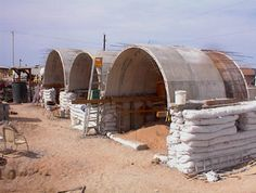 Earthbag Building Sandbag Shelters Of Nader Khalili