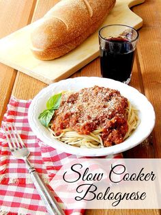 The Best Slow Cooker Bolognese Sauce - This bolognese sauce is so easy it is ridiculous! You let your slow cooker do all the work so you don't have to hover over a stove all day to enjoy this rich velvety pasta sauce.