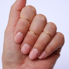 Midi Ring Set in Gold
