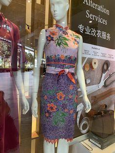 More cheongsam selections for CNY Batik Kebaya, Batik Dress, Emo Dresses, Fashion Dresses, Party Dresses, Batik Fashion, Ethnic Fashion, Tulle Skirt Tutorial, No Sew Tutu