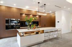 The Block 2016 Neale Whitaker kitchen dining room The Block Kitchen, Open Kitchen, Kitchen Reno, Kitchen Remodel, Kitchen Dining, Dining Room, The Block Australia, Australia House, The Block 2016