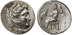 AR Tetradrachm. Greek Coins, Italy, Kingdom of Macedonia, Alexander III. the Great, king 336-323 BC, Susa mint. Circa 316-311 BC. 17,03g. Price 3857. EF. Starting price 2011: 520 USD. Unsold.