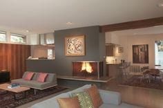 Tarrytown Residence - modern - living room - austin - Steinbomer, Bramwell & Vrazel Architects