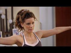 After Lately: Kate Beckinsale yoga workout! :)