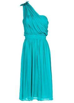 Mango asymmetric silk dress, £89.99