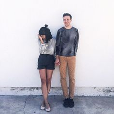 """Sharing stripes for date night  #ShareStripes"""