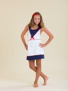 Vestido niña tirantes en piqué - Marketplace social de tiendas para niños de 0 a 14 años