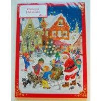 Julekalender økologisk lys chokolade 75 g
