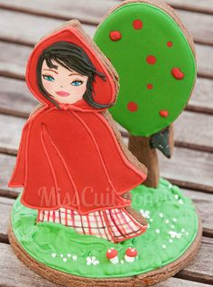 3-D Little Red Riding Hood Cookie |
