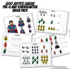 The Lego Movie FREE PreK Worksheet Packet Pre k