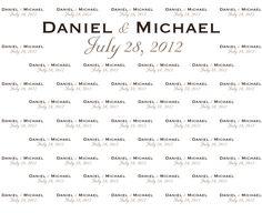 Daniel & Michael's Civil Union