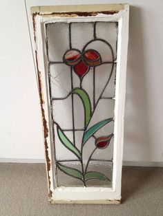 Stained Glass Window by estelle - Cool Glass Art Designs Antique Stained Glass Windows, Stained Glass Door, Stained Glass Suncatchers, Stained Glass Flowers, Stained Glass Crafts, Stained Glass Panels, Leaded Glass, Mosaic Glass, Stained Glass Patterns Free